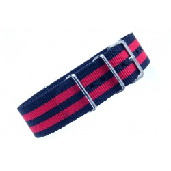 Stripe : Navy Red Navy-Red Navy 20mm